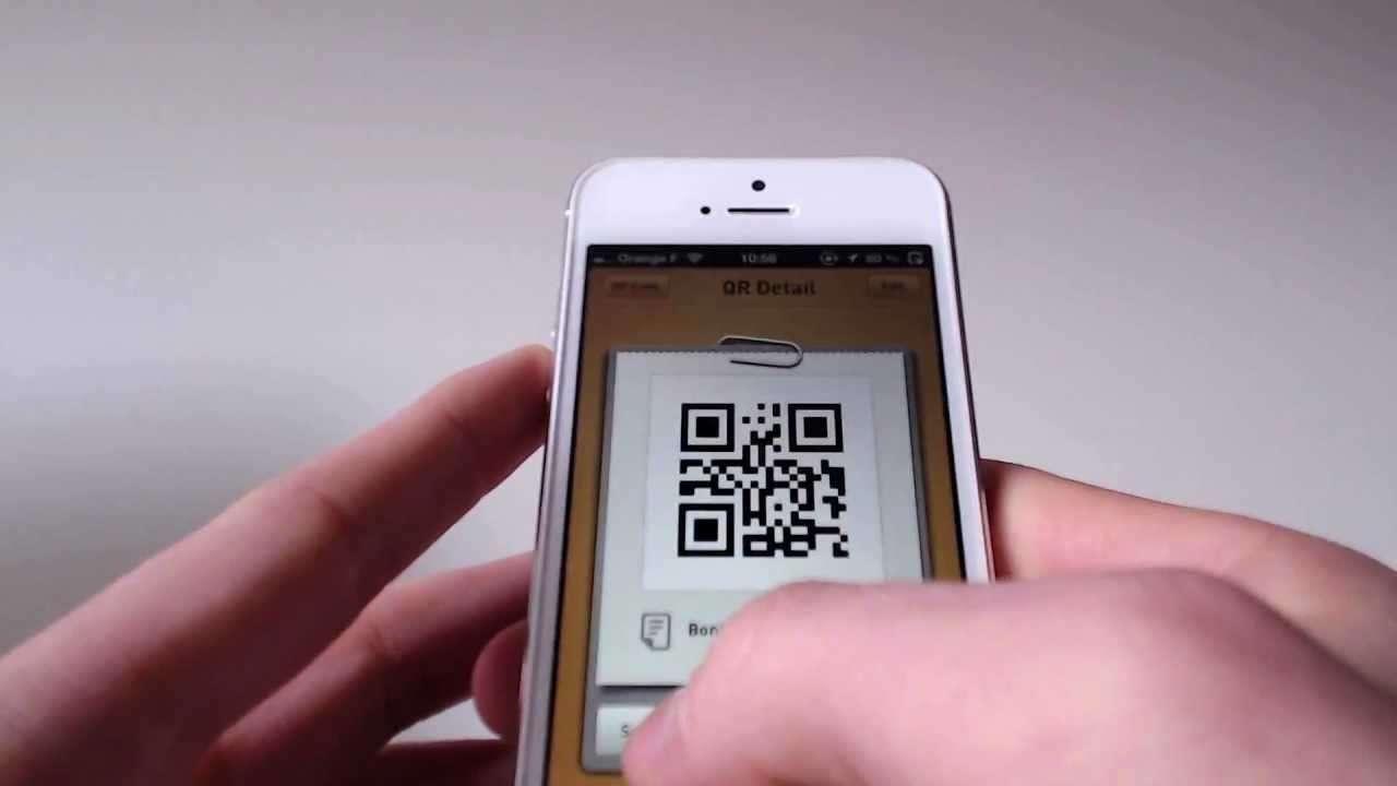 iphone QR Kod uygulaması