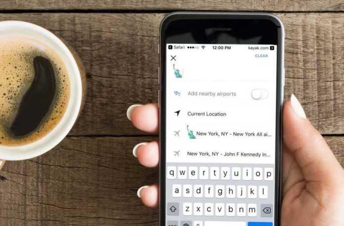 Sizler için seyahat uzmanı olan Kayak uygulamasında artık emoji ile istediğiniz aramayı yapmanızı sağlıyor