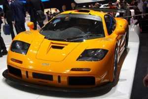 Dünyanın en hızlı arabaları - MCLAREN F1- 241 MPH