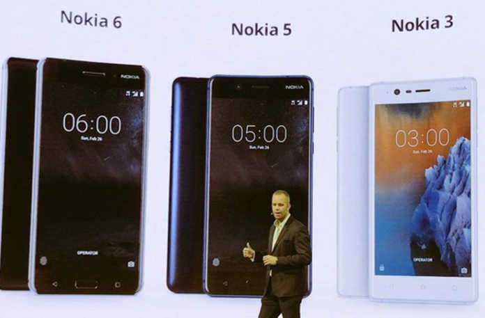 Nokia 3, Nokia 5 ve Nokia 6 Modellerinin Türkiye'de satış fiyatları açıklandı