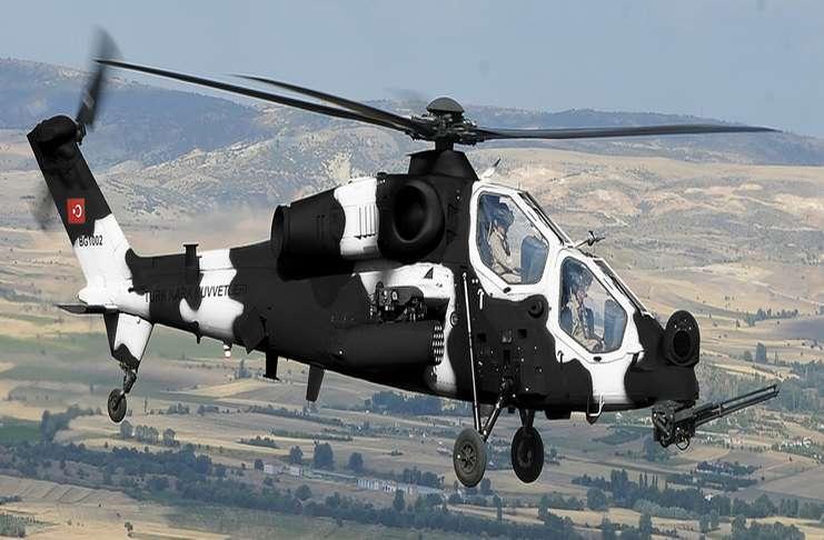 Paris Air Show 2017: Türk yapımı T129 ATAK saldırı helikopteri görücüye çıktı