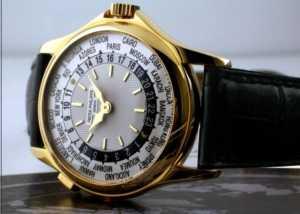 Dünyanın en pahalı saati Patek Philippe Platinum World Time