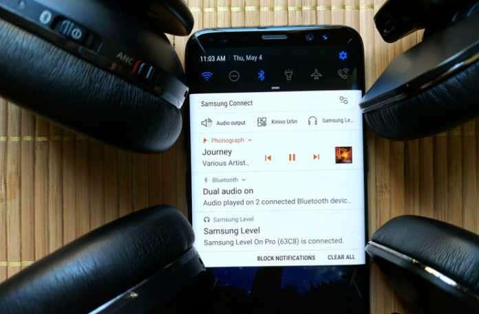 Dual Audio (Çift Ses) ses eşleştirmesini bluetooth ile sağlıyor