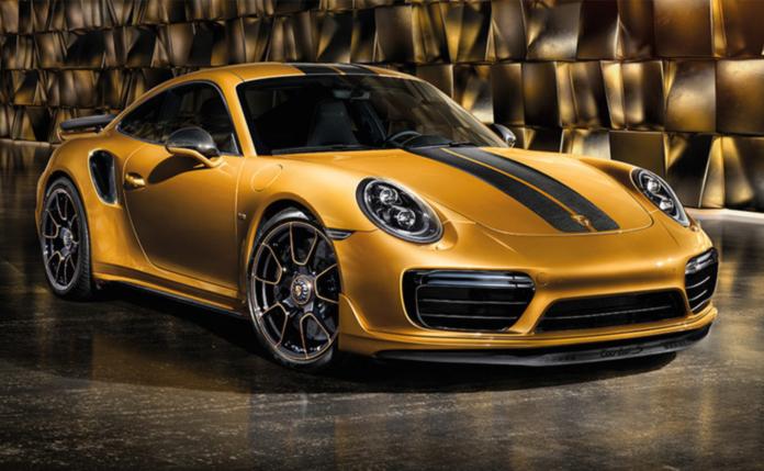 Porsche 911 Turbo S Exclusive 2017