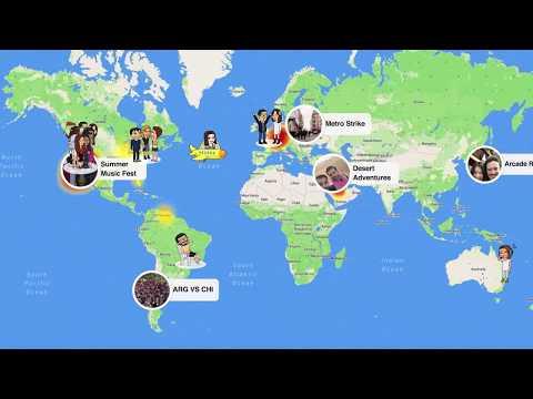 Snapchat, kullanıcılarının arkadaşlarını harita üzerinde konumunu görebilmelerini sağlayan yeni bir özellik sunduğunu açıkladı