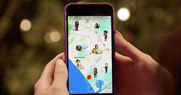 Snapchat yer paylaşım özelliği Snap Map ile başladı