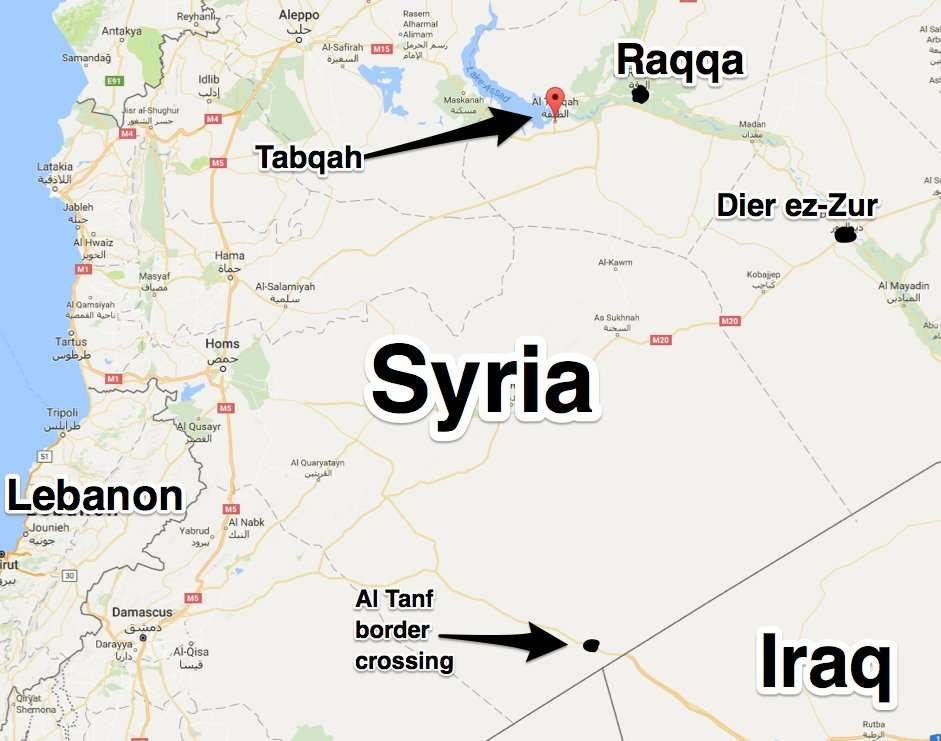 Suriye Rakka Tabkah