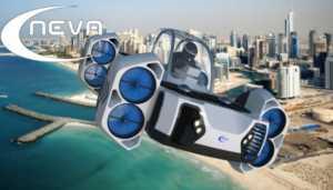Dört tekerlekli uçan araba AirQuadOne