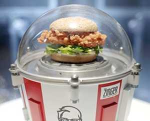 KFC, uzaya hamburger gönderiyor!