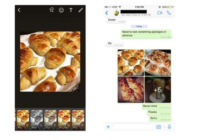 iOs'ta Whatsapp cevaplama kısayolları