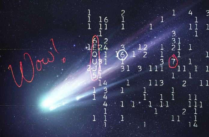 Şu ana kadar bu sinyal sinyal dünya dışı yaşam fanatikleri tarafından evrende yalnız olmadığımıza dair kanıt olarak gösteriliyordu.