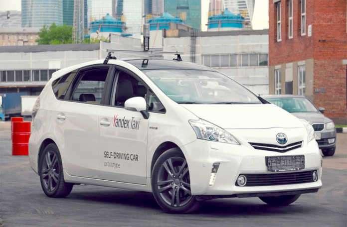 Yandex, kendi geliştirdiği otonom araç