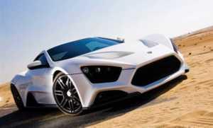 Dünyanın en hızlı arabaları - ZENVO ST 1- 233 MPH