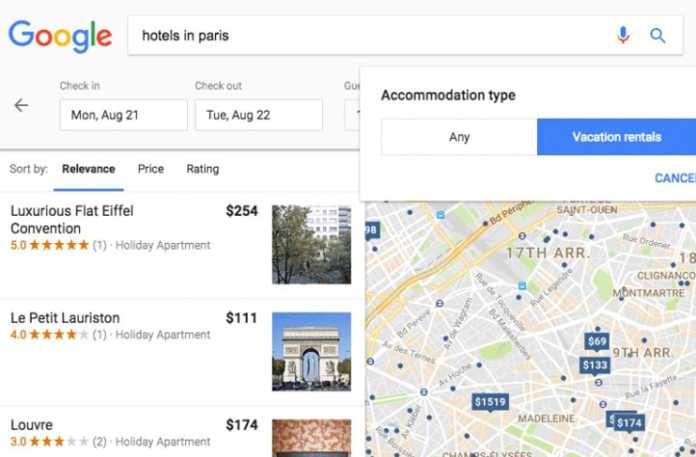 Şimdi Google, turizme de el attı