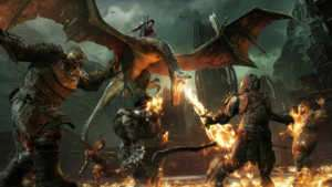 Middle Earth Shadow of War, 10 Ekim'de mobil platformlarda