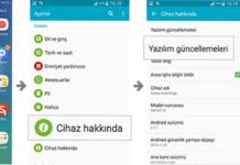 Android sürümünüzü kontrol etme ve güncelleme ayarları