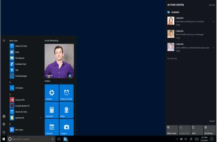 LinkedIn Windows 10 için masaüstü uygulaması çıkartıyor