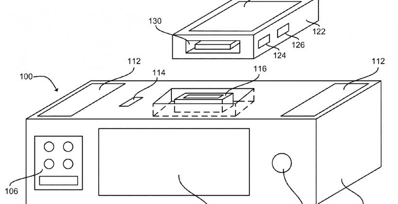 Siri ve kablosuz bir şarj cihazına sahip olabilecek bir iPhone dock