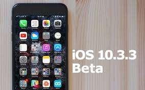IOS 10.3.3 sürüm notları