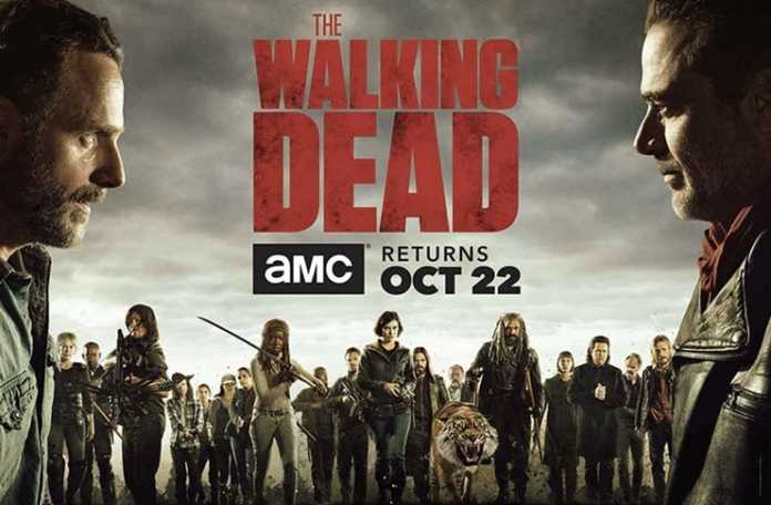 Merakla beklenen Walking Dead dizisinin 8.sezonundan bir fragman yayınlandı