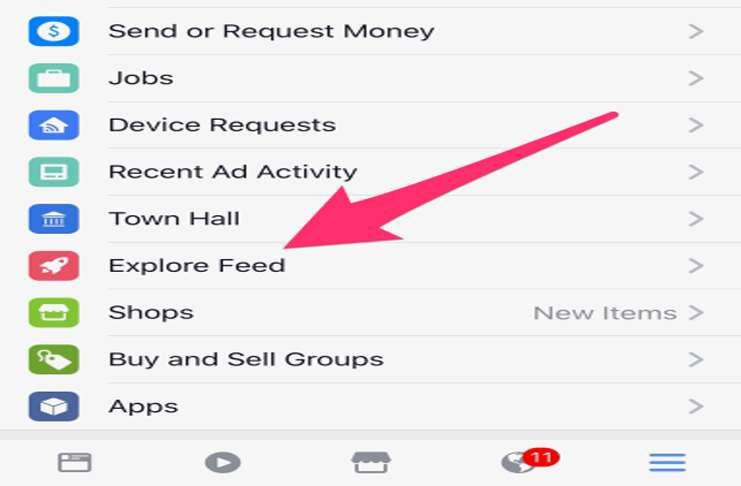 Facebook'un yeni ''Keşfet'' feedleri Facebook'un yörüngesini belirliyor