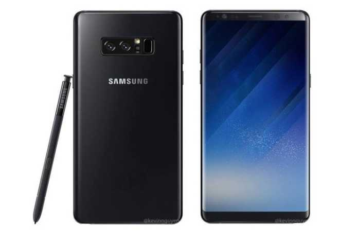 Samsung Galaxy Note 8, S Pen ile görüntülendi