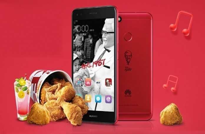 Huawei, KFC için tam 5 bin adet akıllı telefon üretti