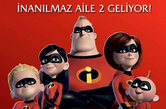 Disney ile Pixar'ın hazırladığı İnanılmaz aile 2 (Incredibles 2) geri dönüyor