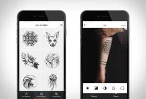 Dövme yaptırmadan önce, özel uygulama INKHUNTER'ı deneyin