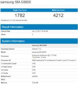 Samsung'un yeni akıllı telefonu Geekbench testinde görüldü