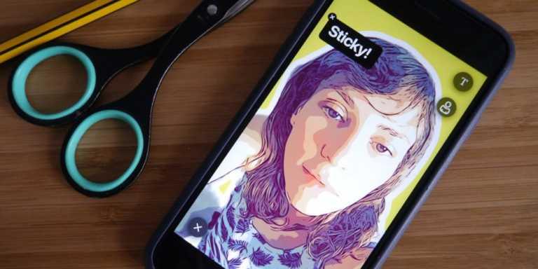 Prisma'nın geliştirdiği yapay zeka uygulaması Selfie'leri Sticker'a çeviriyor