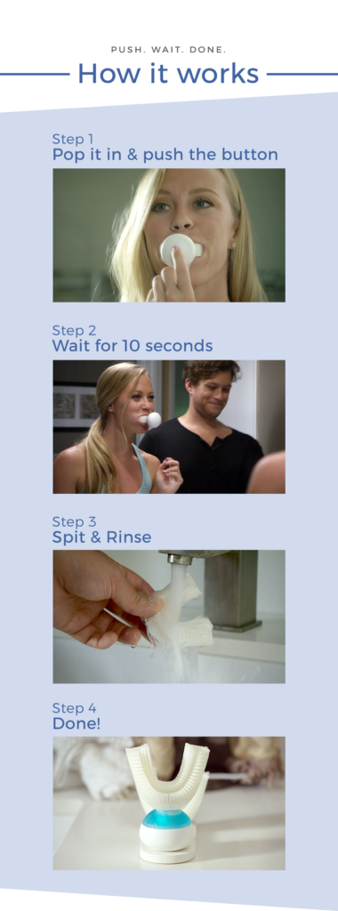 Dişlerinizi 10 saniyede mükemmel bir şekilde temizleyin!